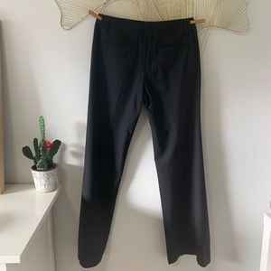 Theory Pants - Theory Demitria Wide-Leg Wool-Blend Trouser